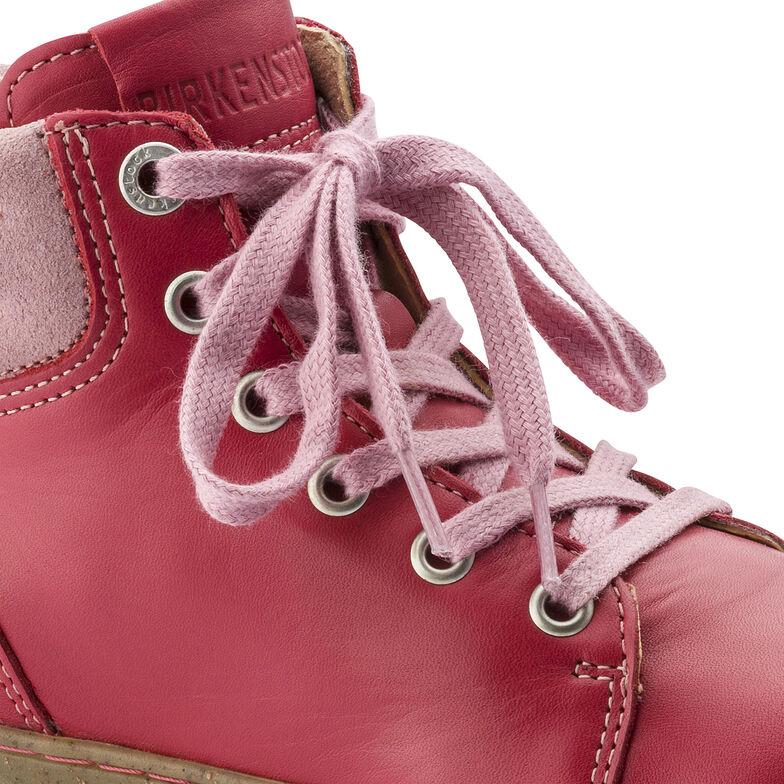 Bartlett Suede Leather Carmine