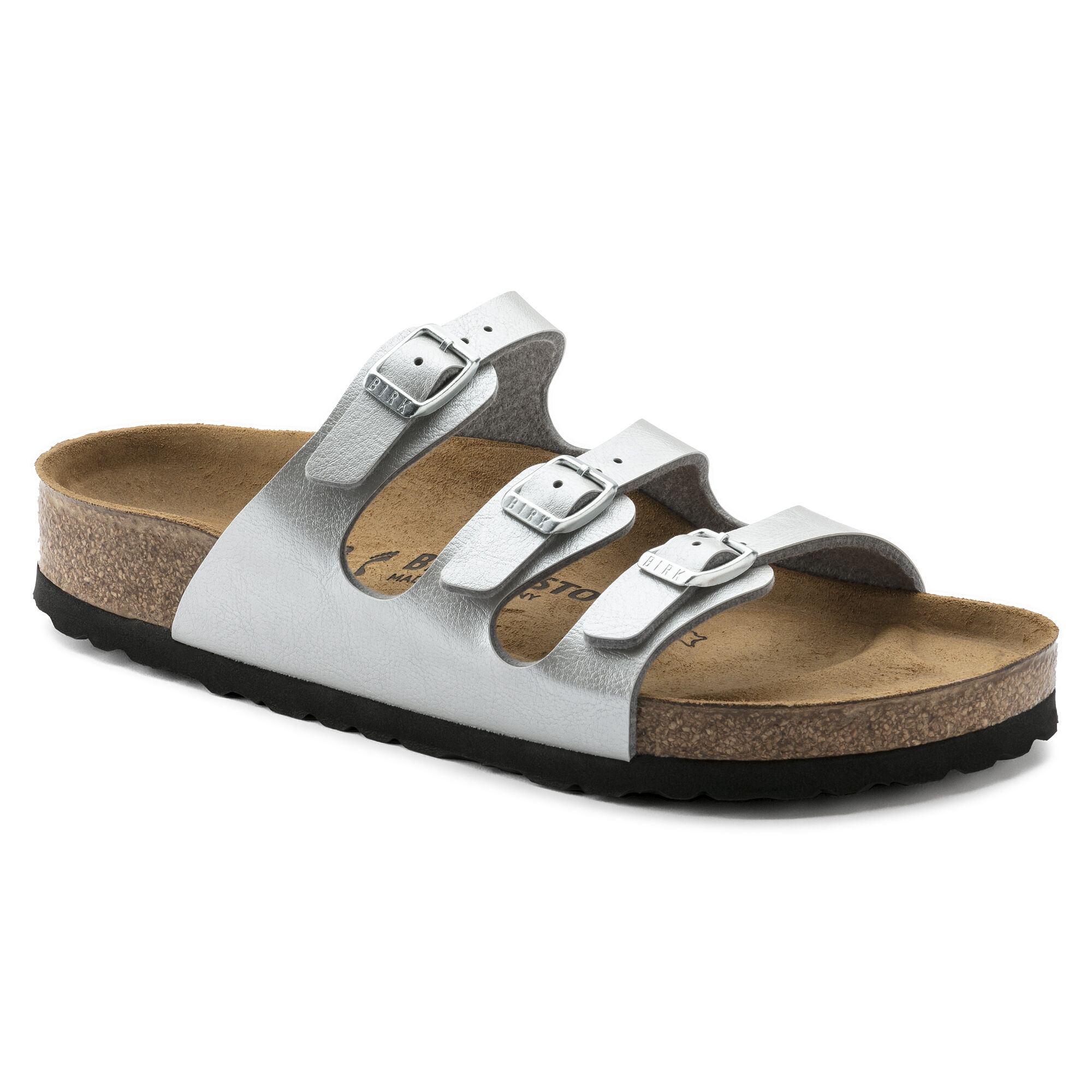 BIRKENSTOCK Florida Graceful Silber Birko Flor Graceful