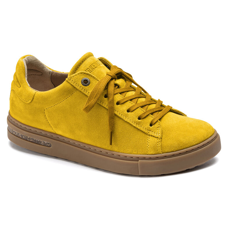 Bend Suede Leather Ochre