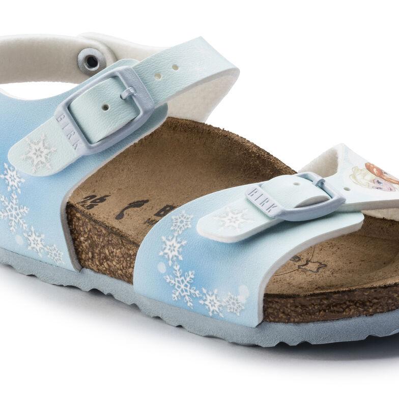 Rio Birko-Flor Frozen Winter Dream Ice Blue