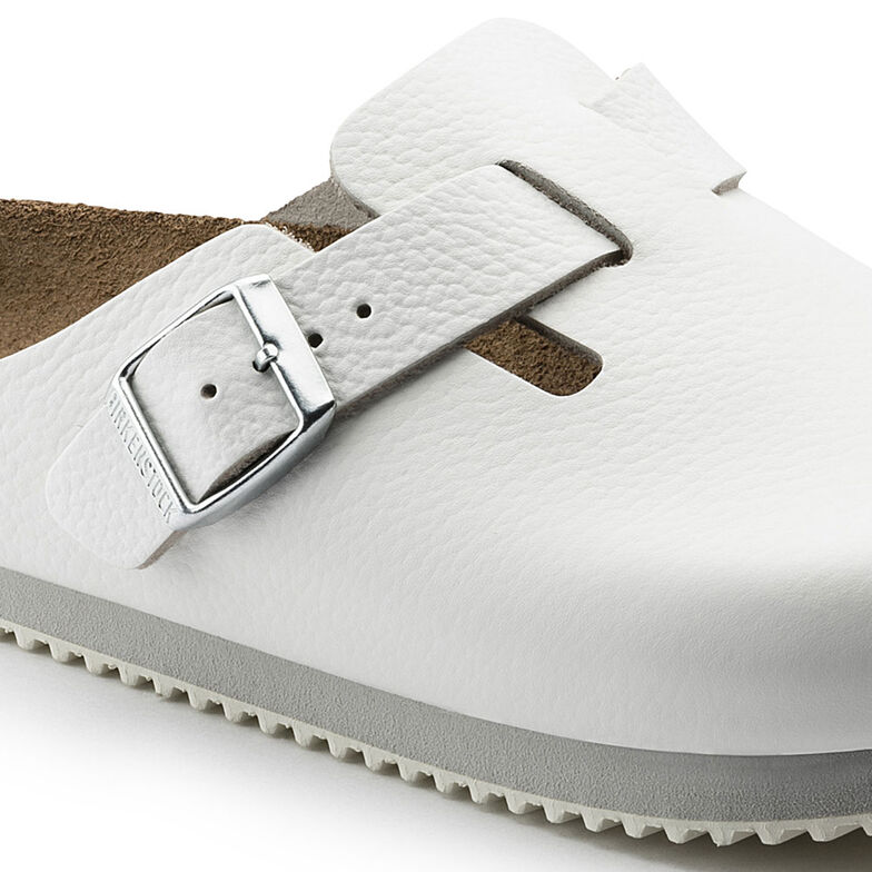 Boston Natural Leather Weiß