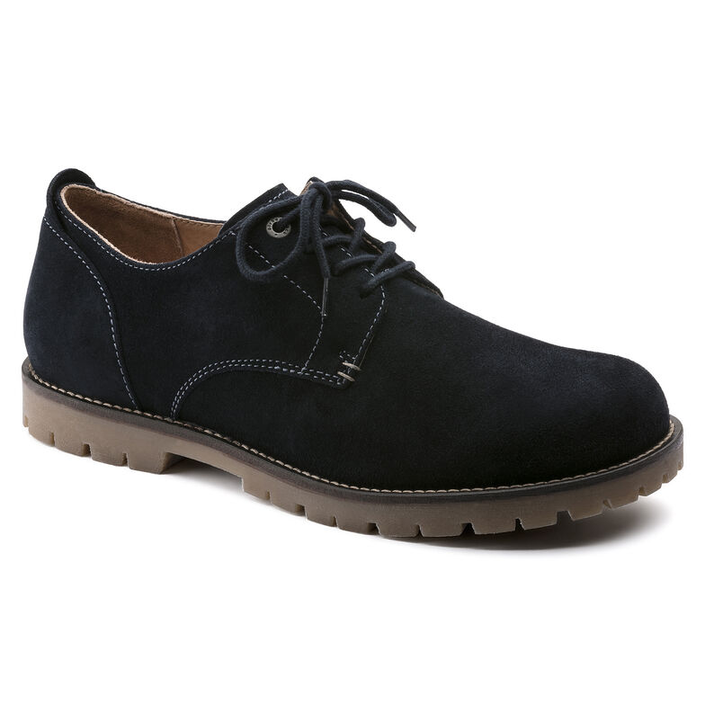 Gilford Suede Leather Night Blue