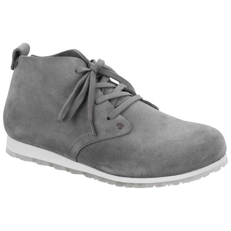 Dundee Plus  Suede Leather Grey