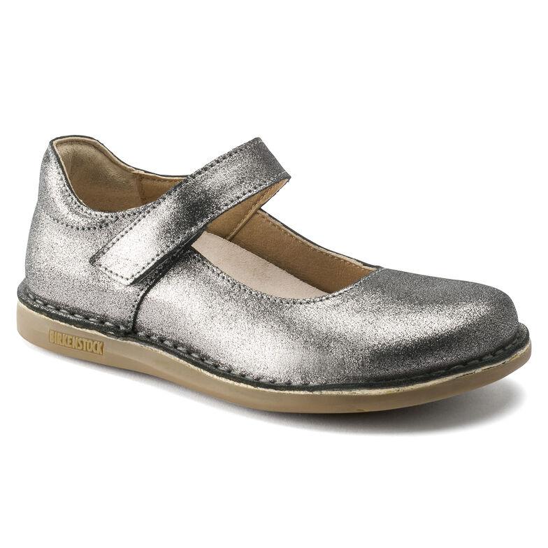 Mantova Natural Leather Silver
