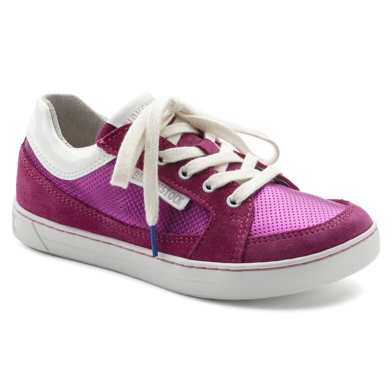 Astee Suede Leather/PVC Fuchsia