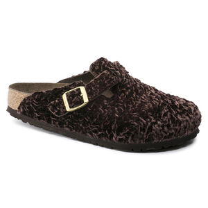 Boston Suede Leather Textile Soft Footbed