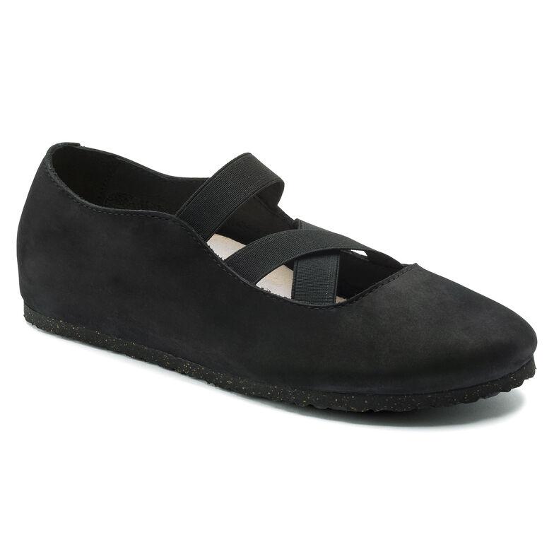 Santa Ana Nubuck Leather Black