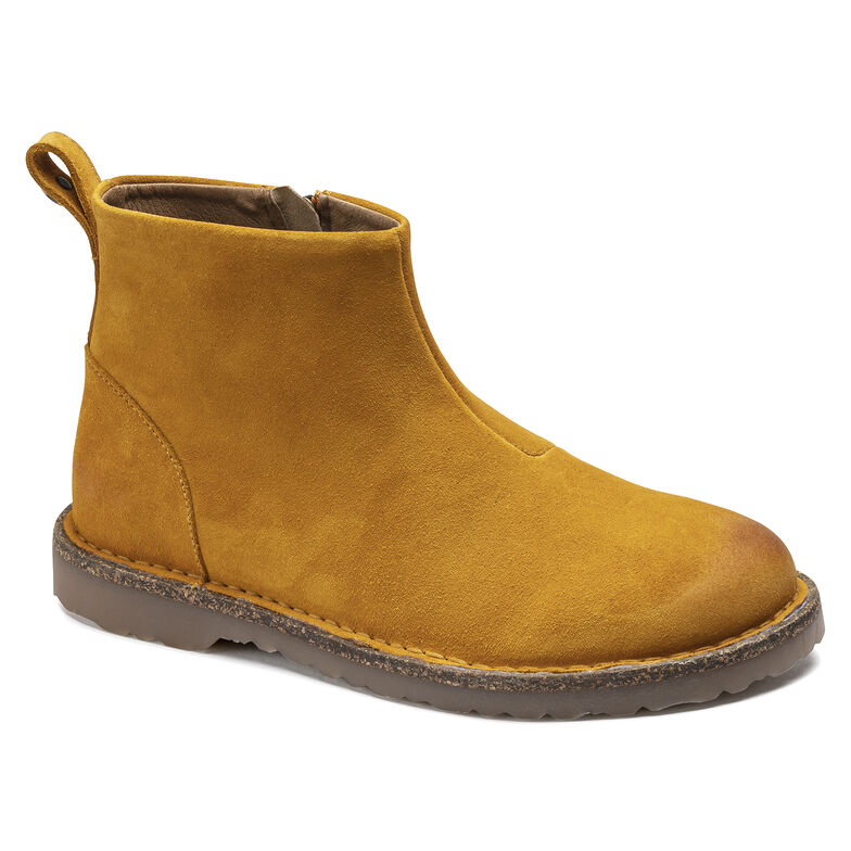 Melrose  Suede Leather Ochre