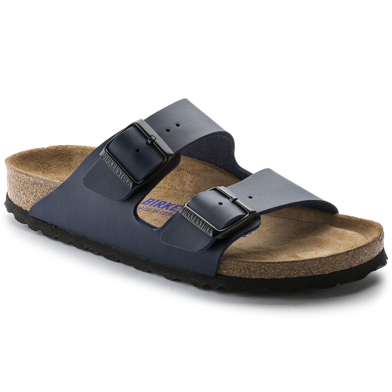 6566558f45457 Arizona Birko-Flor Soft Footbed Blue