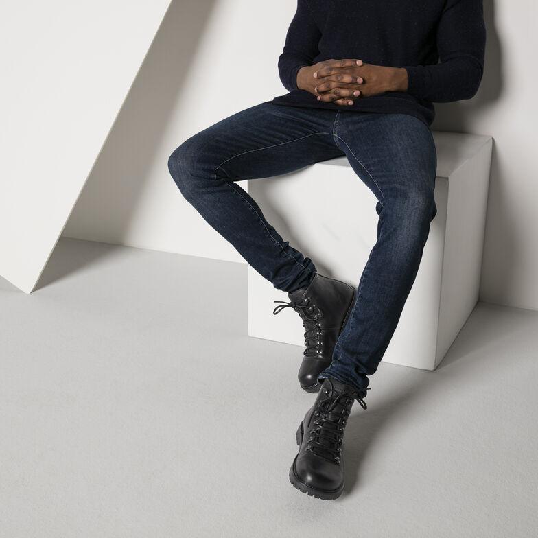 Hancock Oiled Leather Black