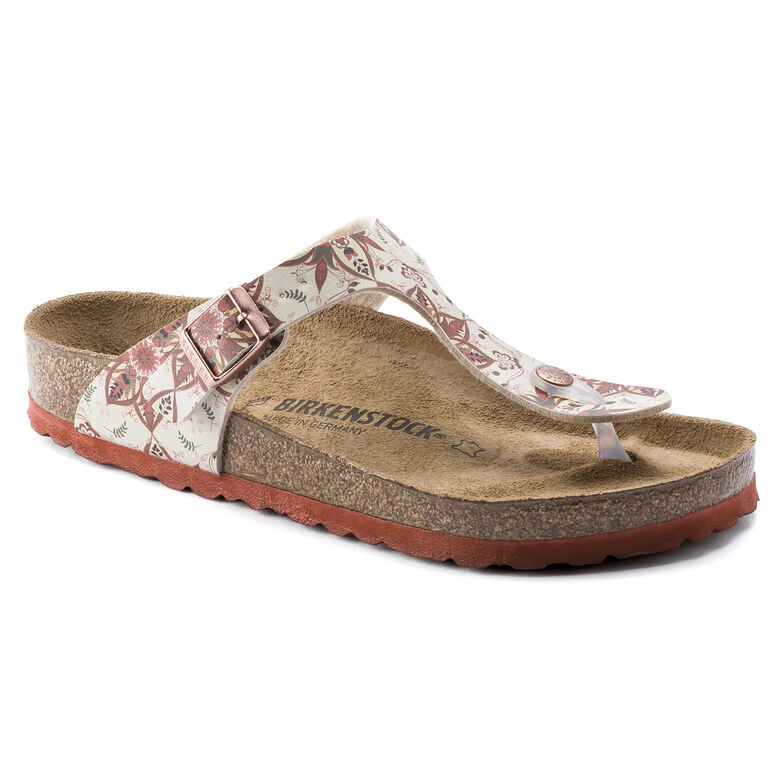 Gizeh Birko-Flor Boho Flowers Earth Red
