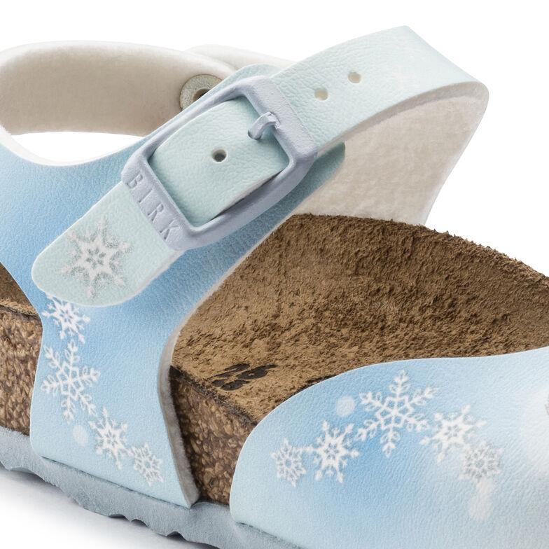 Anguilla Birko-Flor Frozen Winter Dream Ice Blue