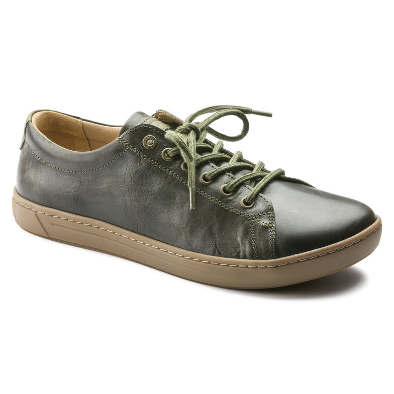 Arran Natural Leather Khaki