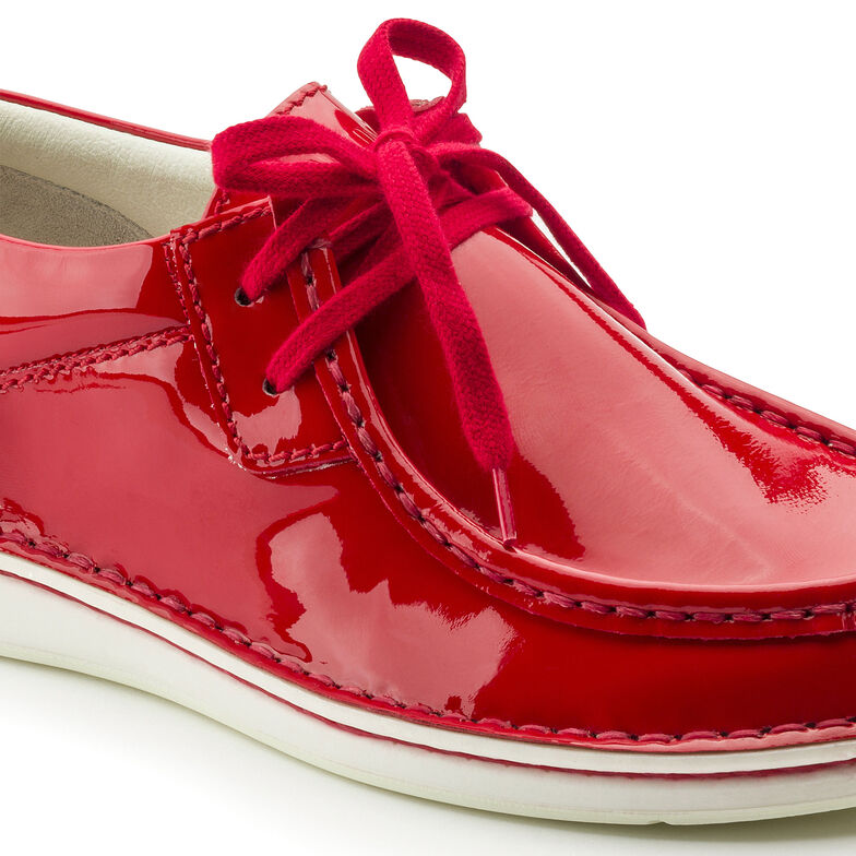 Pasadena Embossed Leather Patent Red