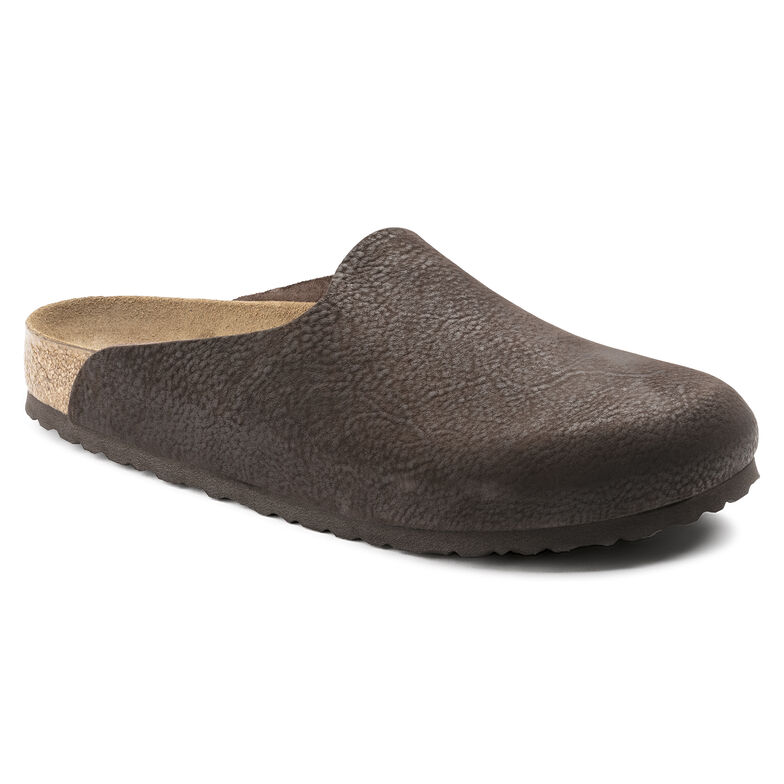 Amsterdam Nubuck Leather Steer Chocolate