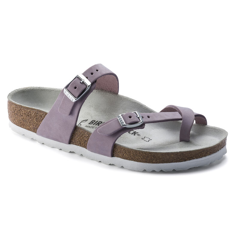 Mayari Nubuck Leather Lilac