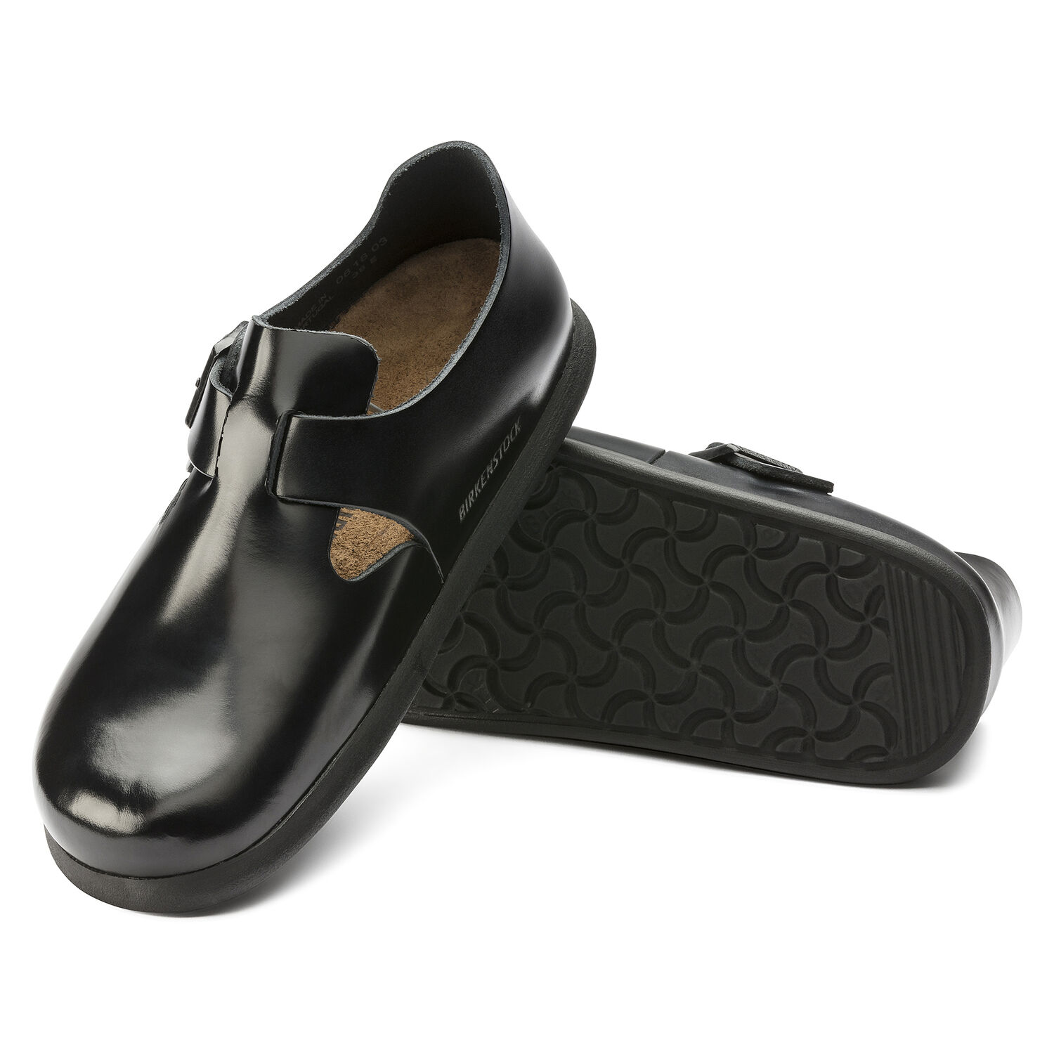London Embossed Leather Patent