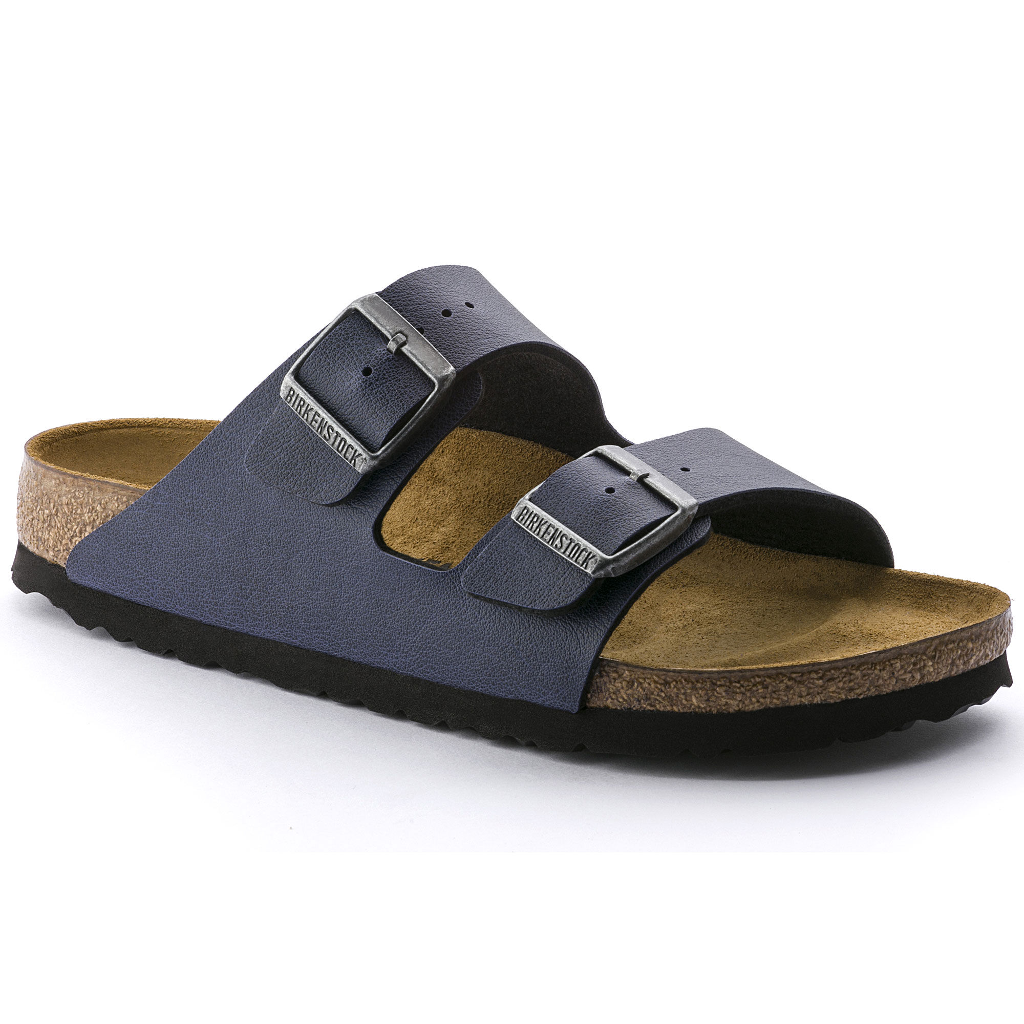 Birkenstock Arizona pull up navy n40
