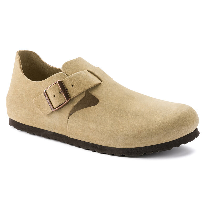 London Suede Leather Sand