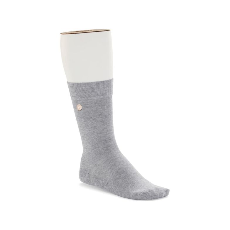 Cotton Sole Fashion Light Gray meliert