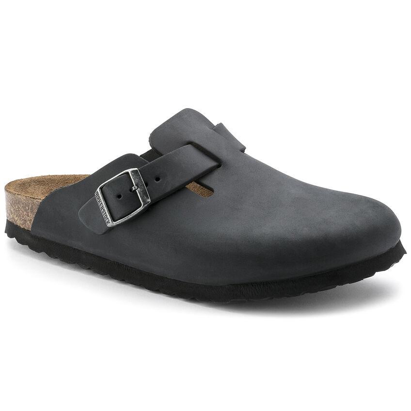Boston Oiled Leather Black Kupuj Online W Birkenstock