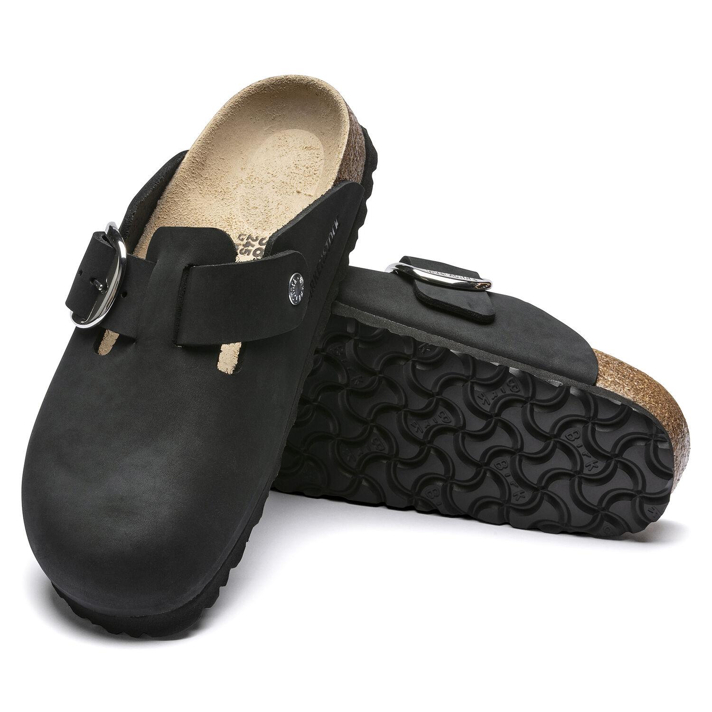 Boston Big Buckle Nubuck Leather