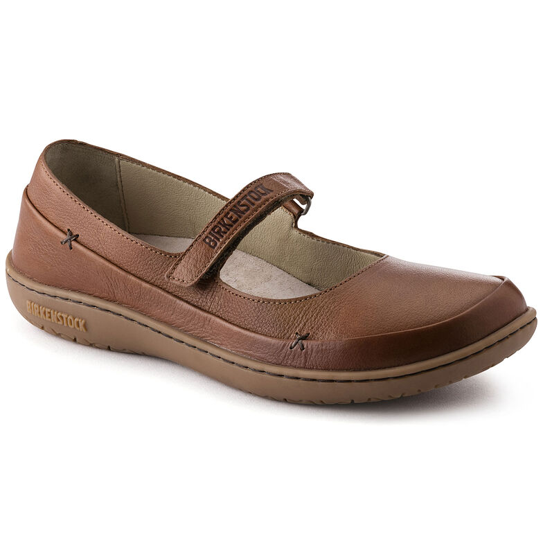 Iona Natural Leather Nut
