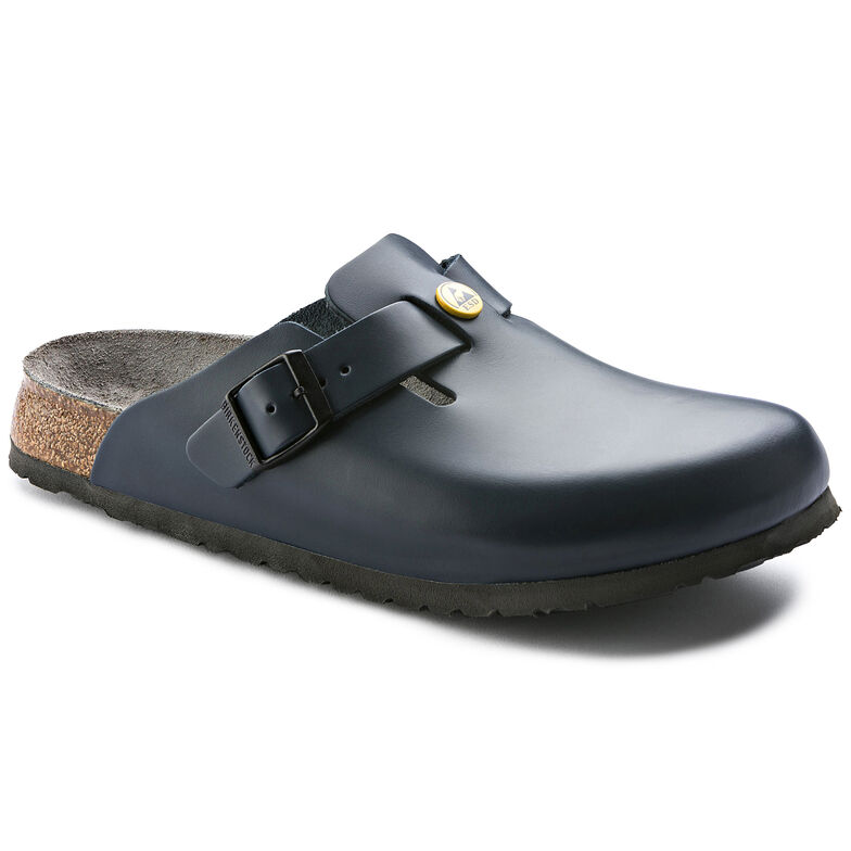 Boston Natural Leather Blue