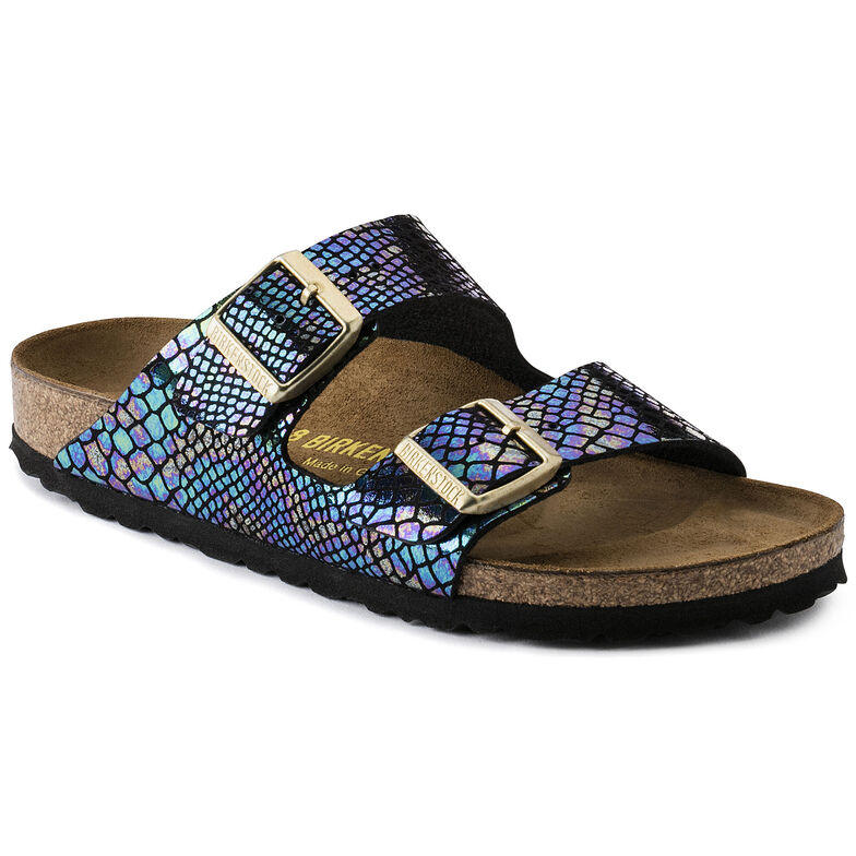 Arizona Birko-Flor Shiny Snake Black Multicolor