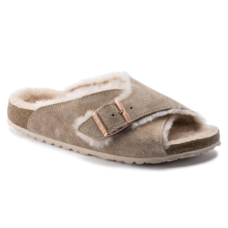 Arosa Suede Leather Nude