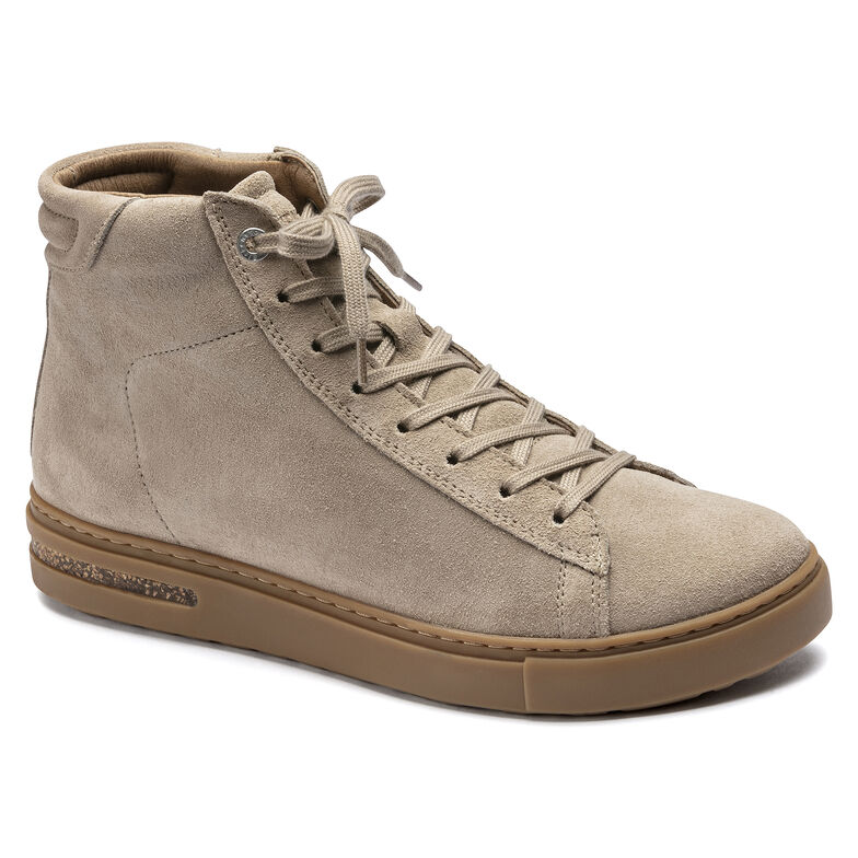 Bend Mid Suede Leather Taupe