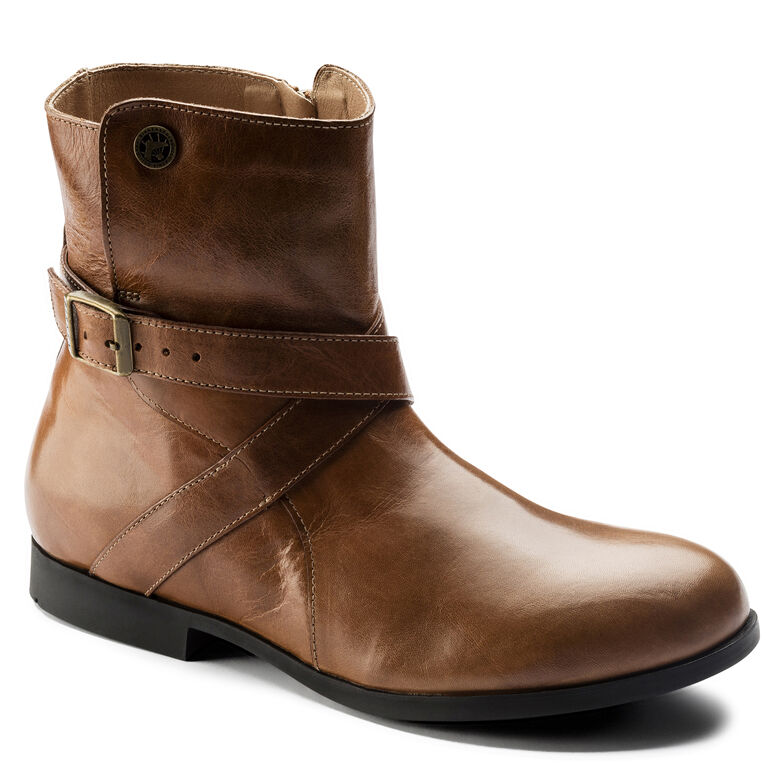 Collins Natural Leather Camel