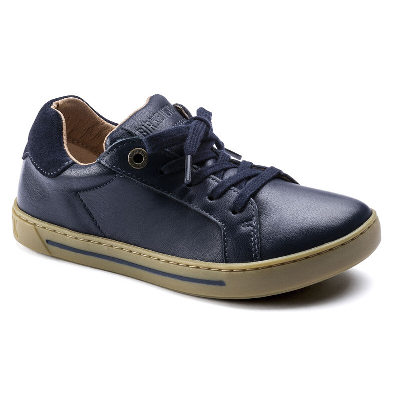 Porto Kids Natural Leather Navy