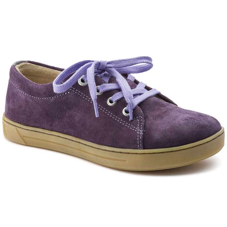 Arran Suede Leather Lilac