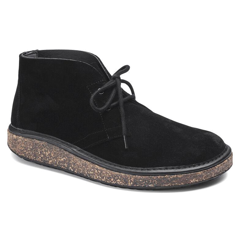 Milton Suede Leather Black
