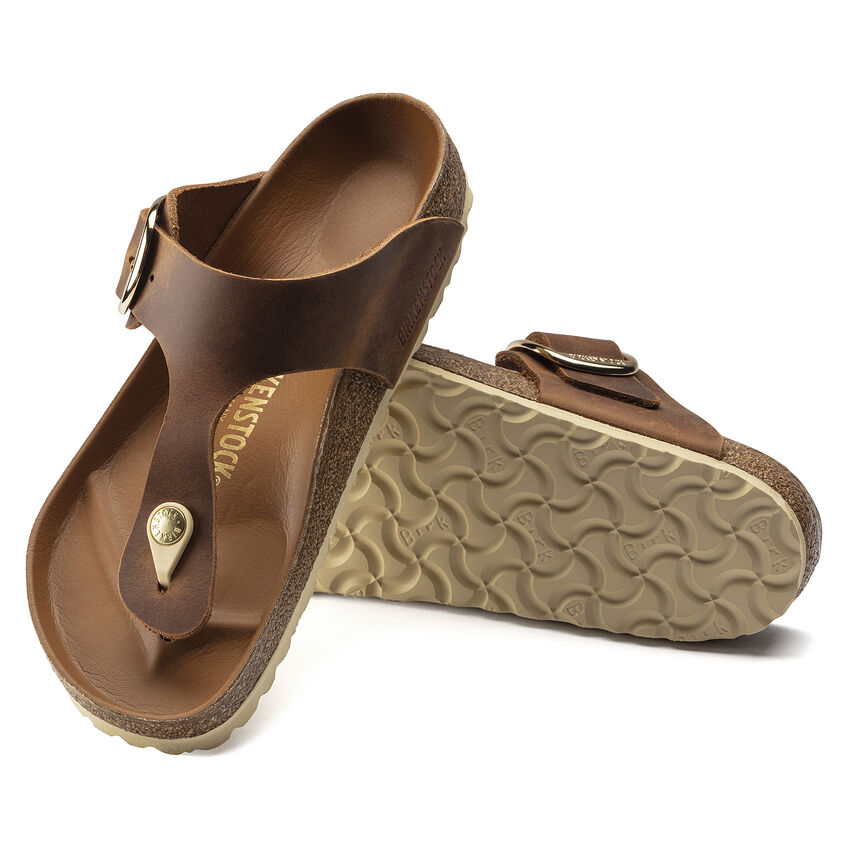 Gizeh Big Buckle Oiled Leather