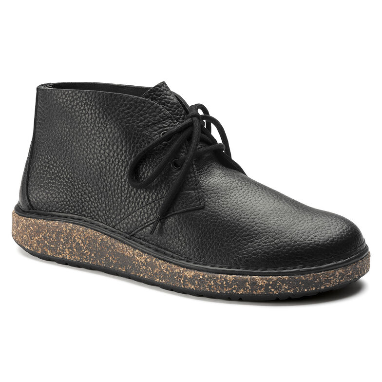 Milton Natural Leather Black1