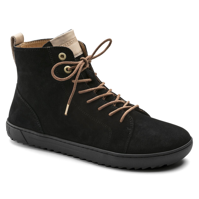 Bartlett Suede Leather Black