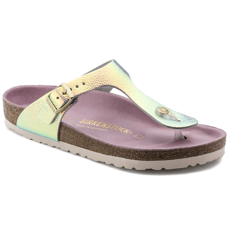 Gizeh Natural Leather Ombre Pearl Silver Orchid