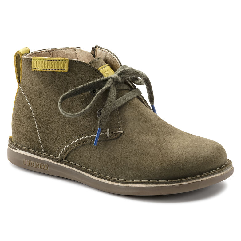 Mylo Suede Leather Khaki
