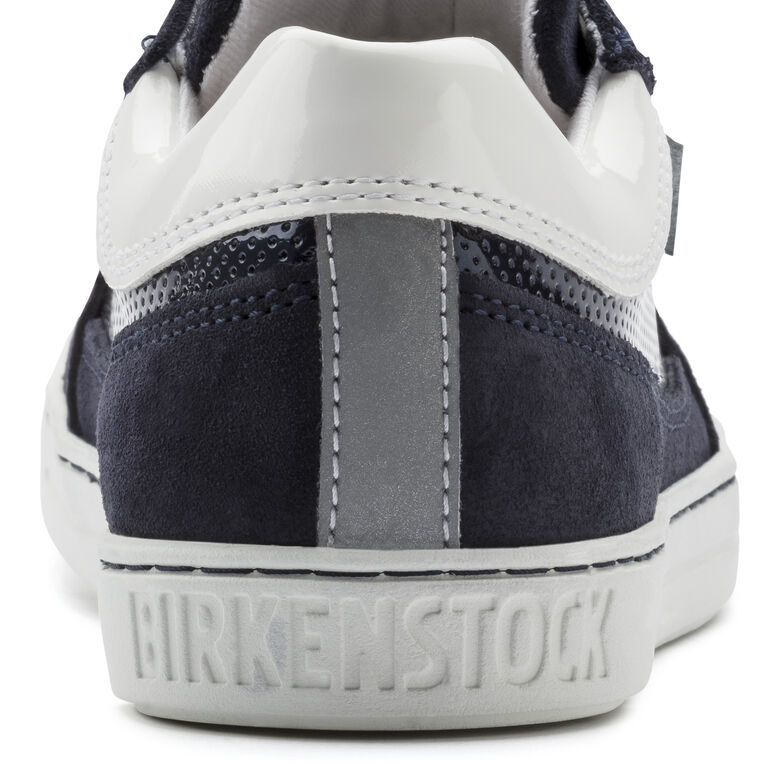 Astee Suede Leather/PVC Navy