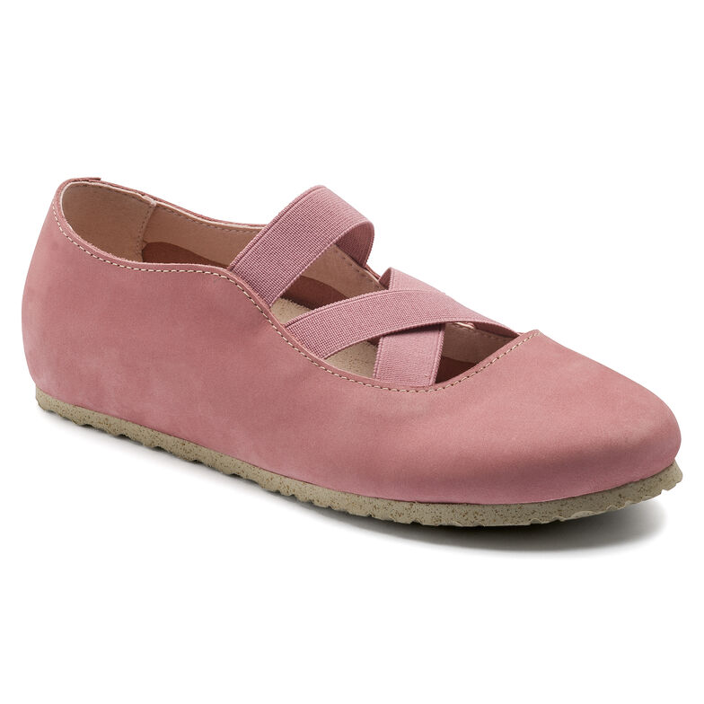 Santa Ana Nubuck Leather Rose/Old Rose