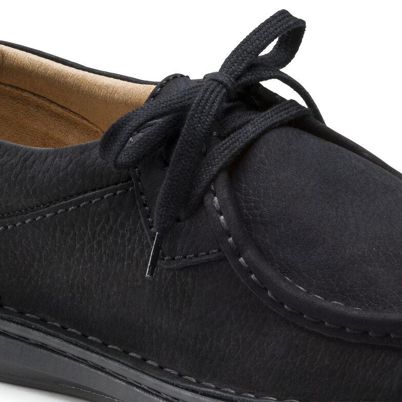 Pasadena Nubuck Leather Black