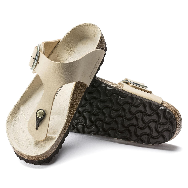 Gizeh Big Buckle Nubuck Leather