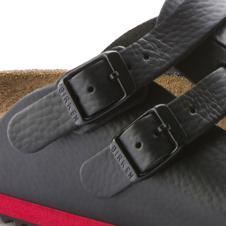 Kay Natural Leather Black