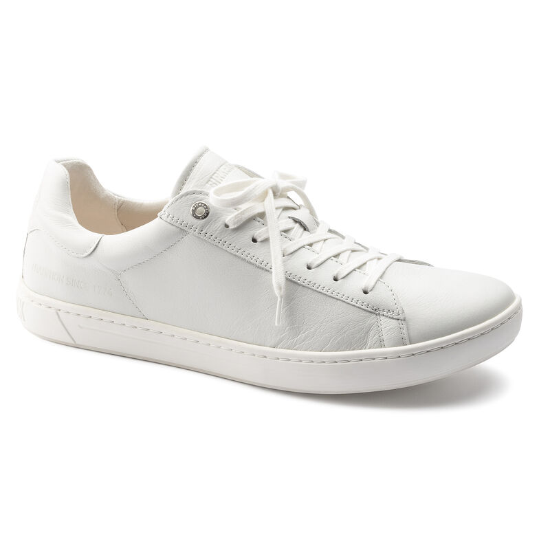 Levin Natural Leather White