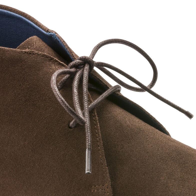 Flen Suede Leather Mocha