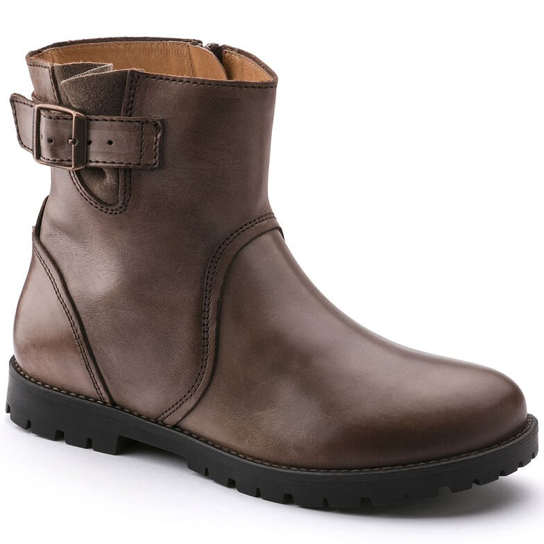 Stowe Natural Leather Dark Brown