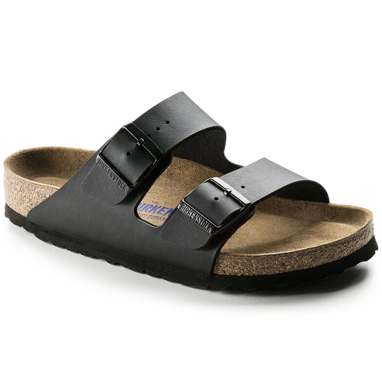 Arizona Birko-Flor Soft Footbed Black