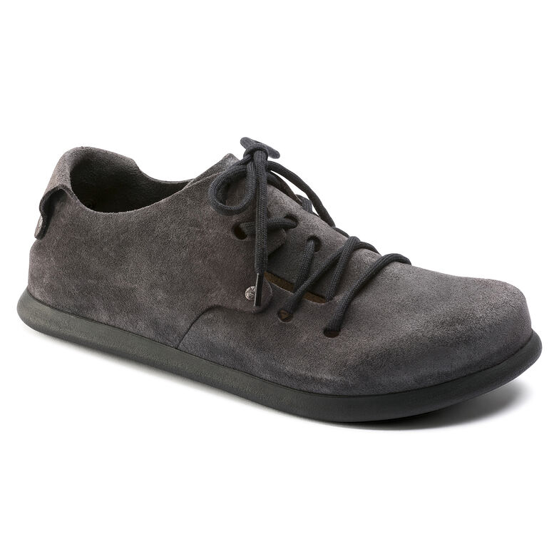Montana Suede Leather Gunmetal